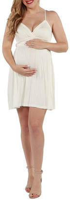 24/7 Comfort Apparel Skylar Maternity Dress