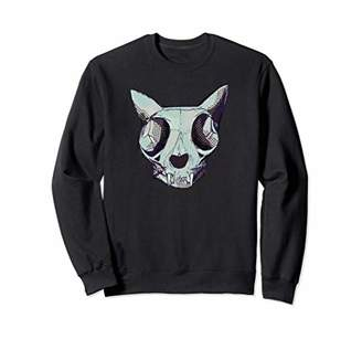 Celebrate 365 Halloween Cat Skull Sweatshirt