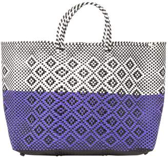 Truss Nyc Purple Synthetic Handbag