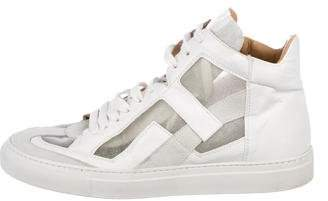 MM6 MAISON MARGIELA Glitter High-Top Sneakers