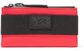 Y-3 + Adidas Originals Appliquéd Twill-Trimmed Scuba Wallet