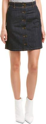 Maje Denim Mini Skirt