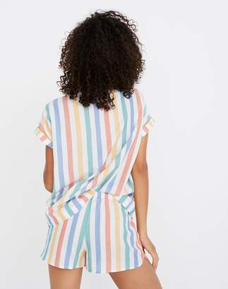 Madewell Bedtime Pajama Short in Stripe