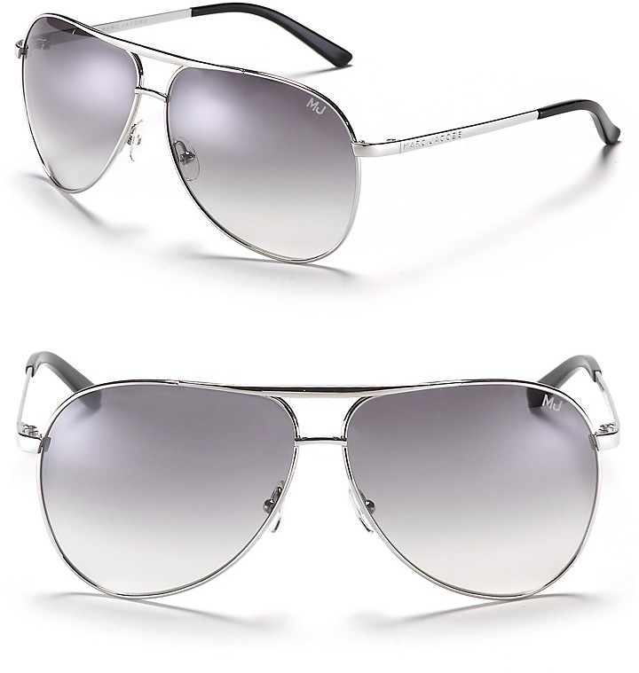 Marc Jacobs Full Metal Aviator Sunglasses