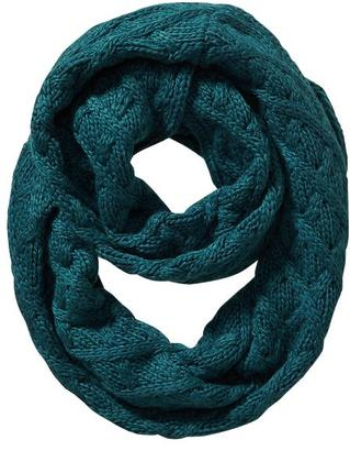 Women's Cable-Knit Infinity Scarf $18.94 thestylecure.com