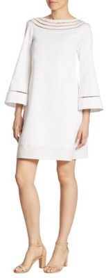 Ralph Lauren Collection Felicia Cotton Dress $1,490 thestylecure.com