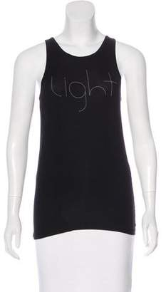 Marc Jacobs Graphic Sleeveless Top