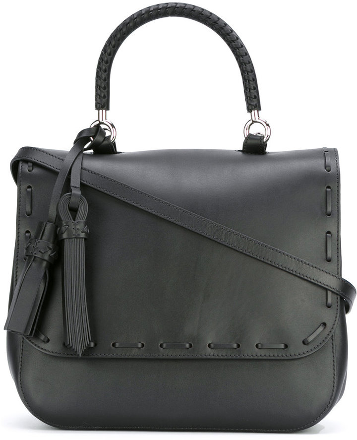 Max Mara Max Mara flap shoulder bag