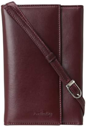 Leatherbay Leather Wallet / Purse With Strap