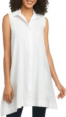 Foxcroft Sleeveless Button-Down Tunic