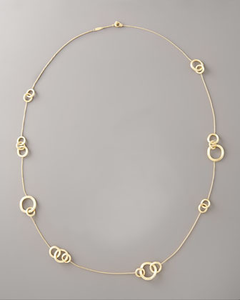Marco Bicego Jaipur Gold Link-Station Necklace