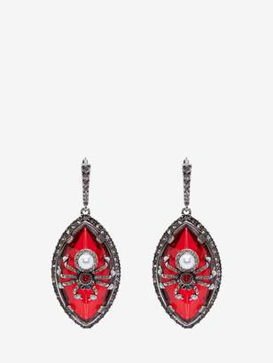 Alexander McQueen Spider Earrings
