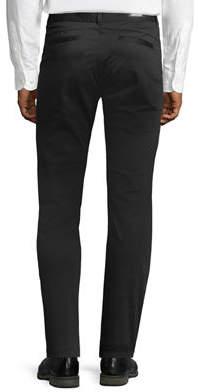 Karl Lagerfeld Paris Paneled Stretch-Cotton Chino Pants