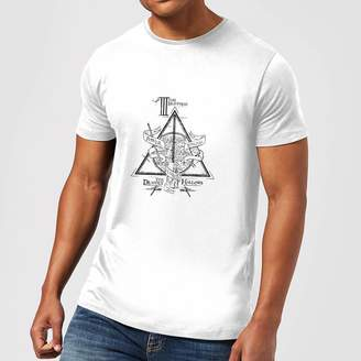 352579d7 Harry Potter Three Dragons White Men's T-Shirt