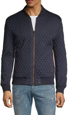 Antony Morato Quilted Fleece Bomber Jacket
