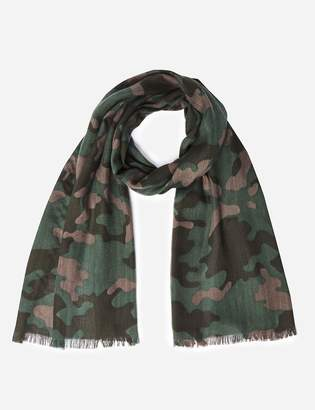 M&S CollectionMarks and Spencer Camouflage Print Scarf