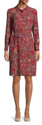 Marella Long Sleeve Shirt Dress