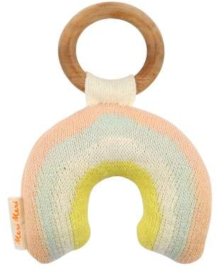 Meri Meri Organic Cotton Rainbow Rattle