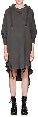 NSF Women's Wren Knit Cotton Hooded Dress - Black