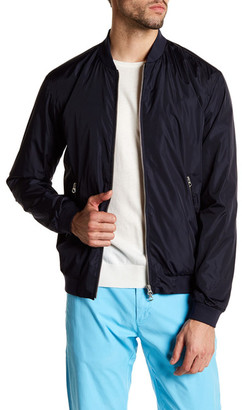 GANT Airy Bomber Jacket $275 thestylecure.com