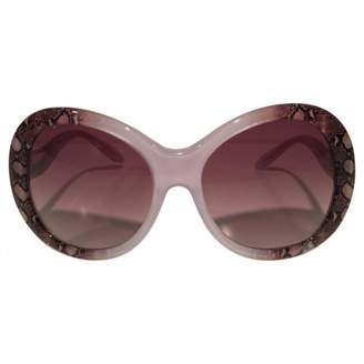 Roberto Cavalli Silver Other Sunglasses