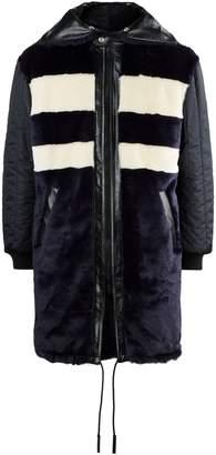 Givenchy Faux Fur Parka Jacket
