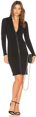 James Perse Scuba Zip Front Dress