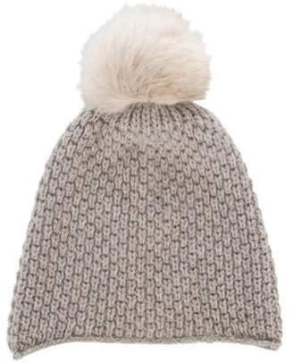 Inverni Pom-Pom Knit Beanie