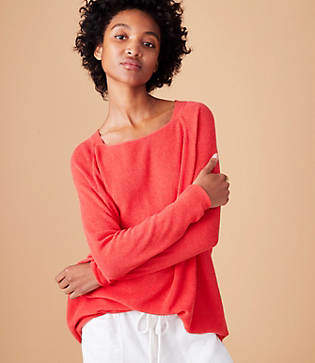 Lou & Grey Dolman Sweater Tunic