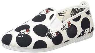 Flossy Unisex Kids' Hello Kitty Dot Espadrilles,6 Child UK 23 EU