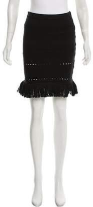 Timo Weiland Fringe Mini Skirt