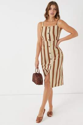 Cotton On Womens Midi Dress - Pink
