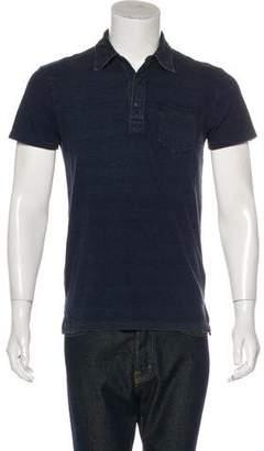 Co RRL & Striped Polo Shirt
