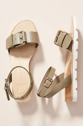 Dolce Vita Buckled Ankle Strap Sandals