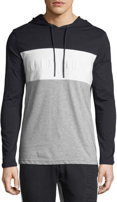 Antony Morato Men's Colorblocked Hooded T-Shirt