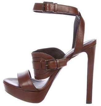 Belstaff Leather Platform Sandals