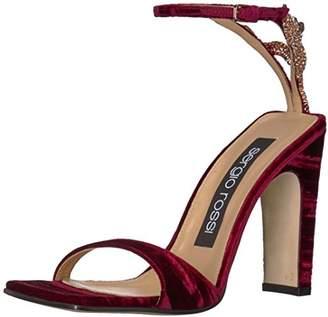 Sergio Rossi Women's SR1 Heeled Sandal Ruby Medium EU (36