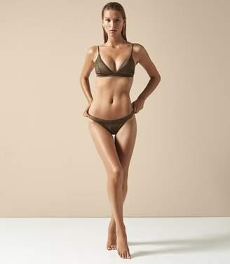 Reiss Raquel Pleat Detail Bikini Briefs