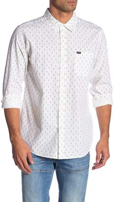 Obey Screw Print Long Sleeve Shirt