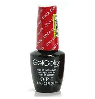 OPI Gel Color, Coca-Cola Red, 0.5 Ounce by