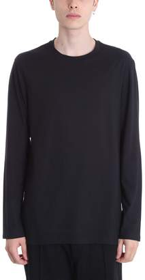 Helmut Lang Black Cotton T-shirt