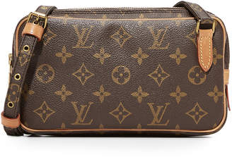 Louis Vuitton What Goes Around Comes Around Mono Marlybando Pouchette (Previously Owned)