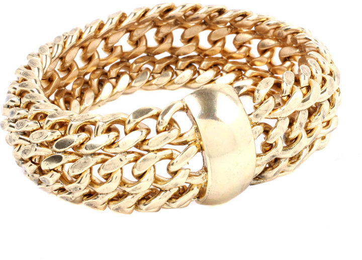 ASOS Statement Curb Chain Soft Bangle