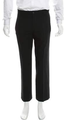 Giorgio Armani Cropped Flat Front Dress Pants