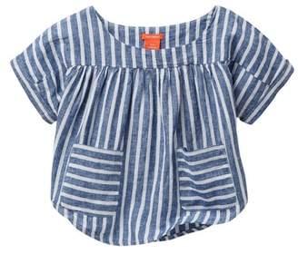 Joe Fresh Stripe Top (Little Girls & Big Girls)