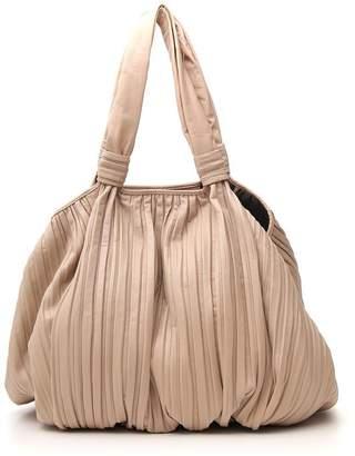 Max Mara Pleated Tote Bag