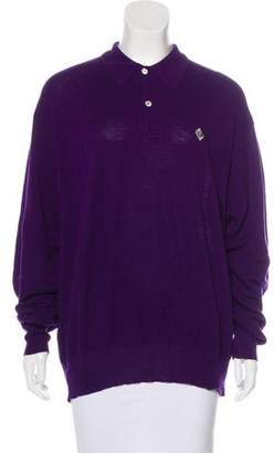 Ralph Lauren Monogrammed Long Sleeve Top