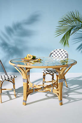 Tracey Boyd Rattan Indoor/Outdoor Bistro Table