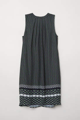 H&M Creped Dress - Green