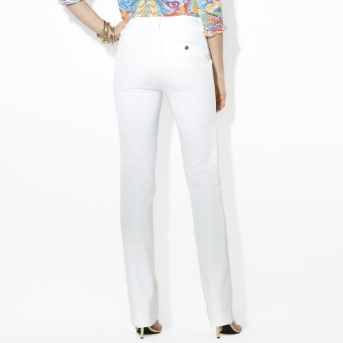 Ralph Lauren Slim-Fit Straight Pant